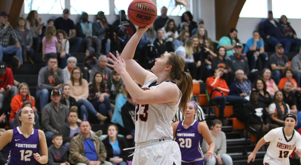 Women's basketball moves to 16-3 with win over Fontbonne