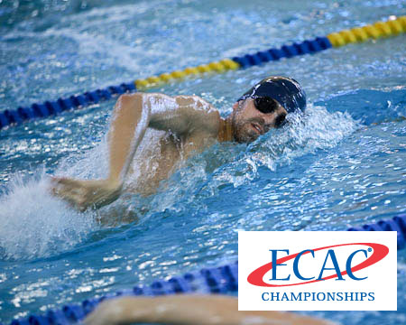 GU's Brian Bennett concludes stellar career at ECAC swimming and diving open championships