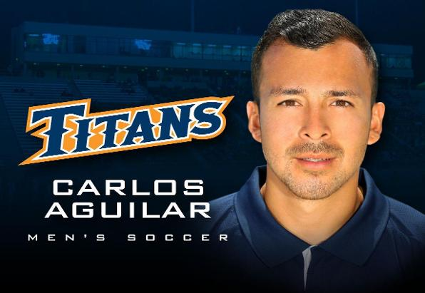 Former Anteater Assistant Aguilar Joins Titans' Coaching Staff