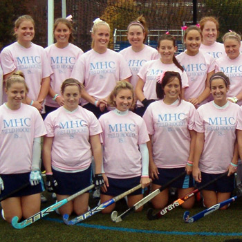 "Field Hockey Team Set to ""Play Pink"""