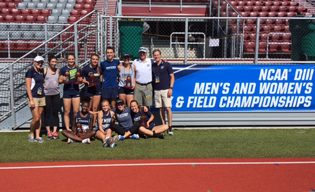 Women's 4x100m, Stravach, Bland Claim All-America Honors on Final Day of NCAA DIII Championships