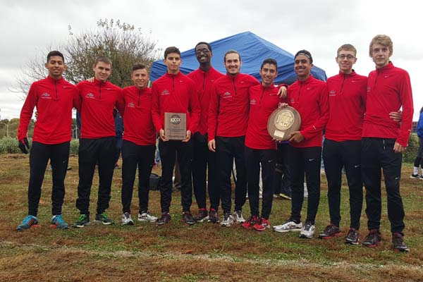 Men's Cross Country brings back two titles
