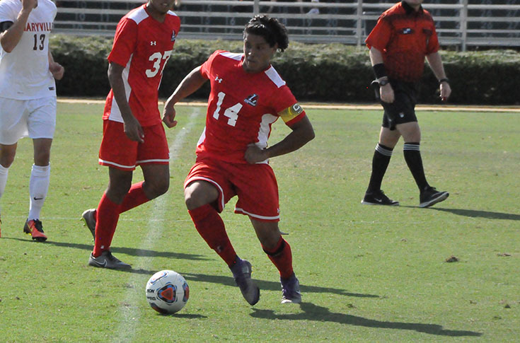 Men's Soccer: Panthers overcome Averett, elements for 3-2 USA South win