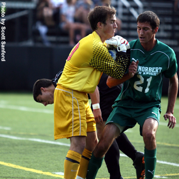 Foresters Rout St. Norbert for Third Straight Victory
