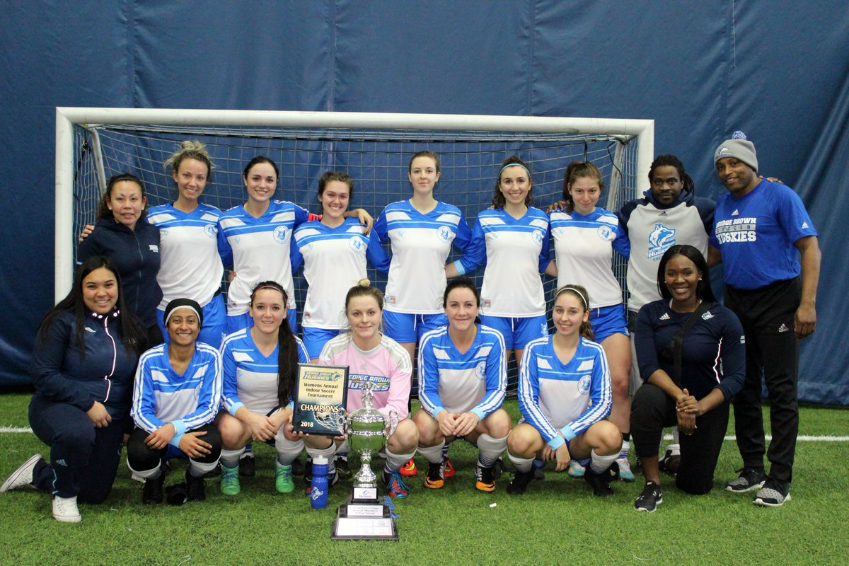 HUSKIES INDOOR SOCCER SWEEP TITLES AT 2018 GEORGE BROWN INVITATIONAL TOURNAMENT