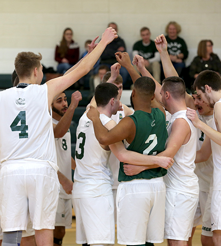 Men's Volleyball Falls to #15 Lasell
