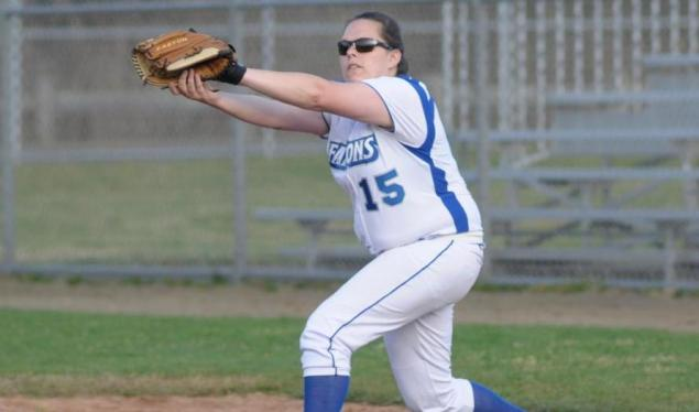 Falcons Shutout Emmanuel 8-0 in Five Innings