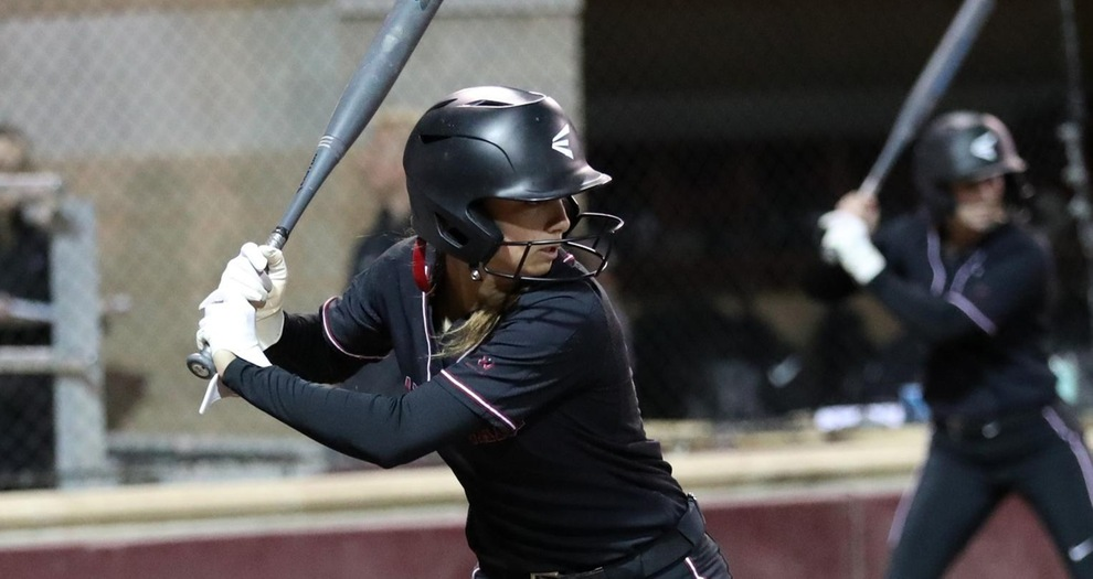 Softball Beats Marist in Rain-Shortened Day at ShareSLO Mustang Classic