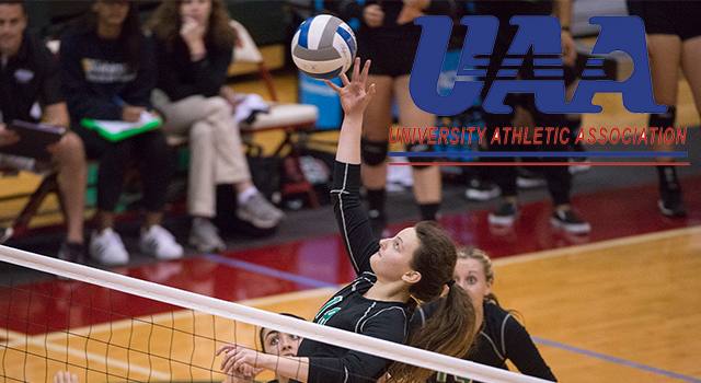 UAA Announces All-Association Volleyball Team; Julianne Malek of Washington University Named Most Valuable Player