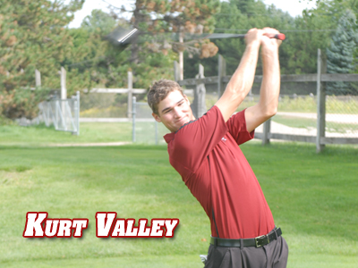 Kurt Valley To Captain 2009-10 Men's Golf Team