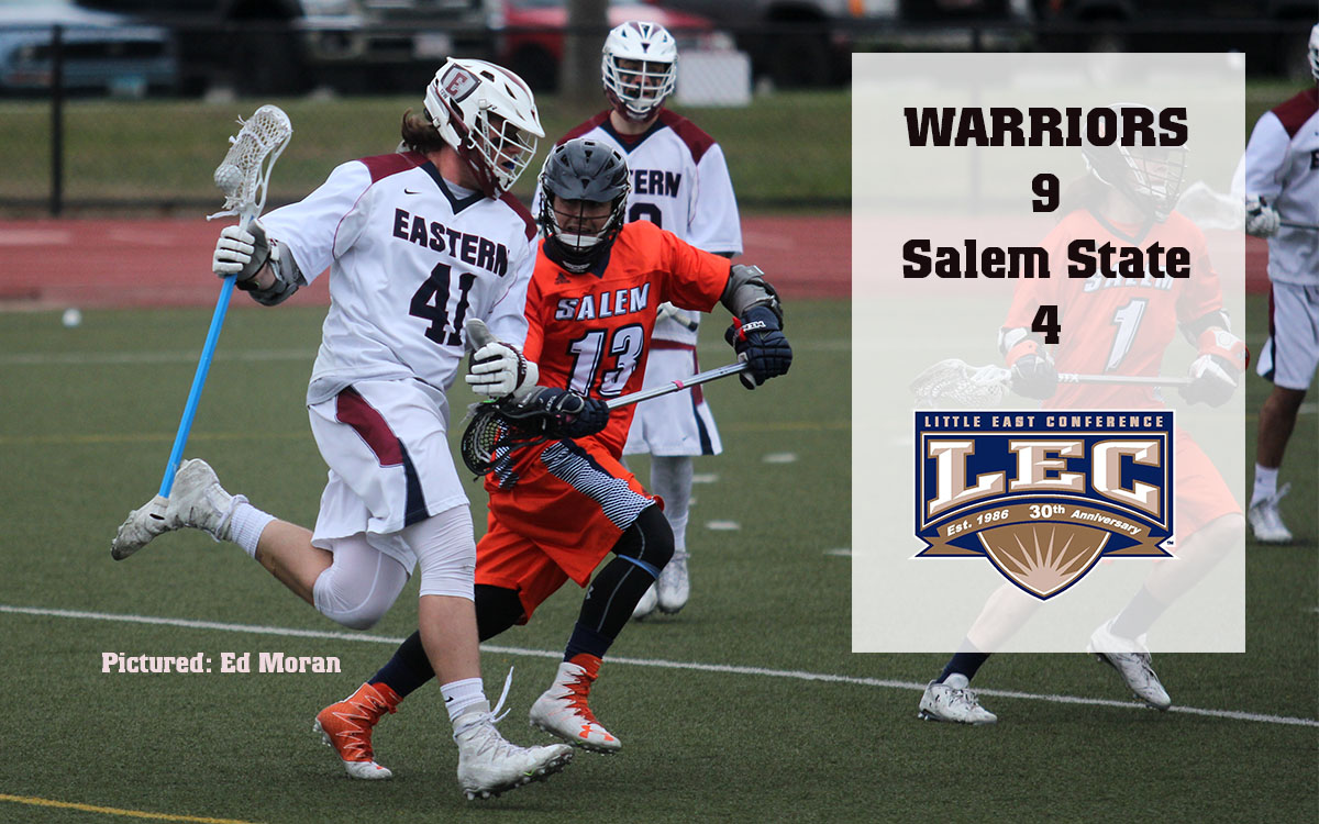 Men's Lacrosse: Warriors Muster Little East Must-Win by Downing Salem State