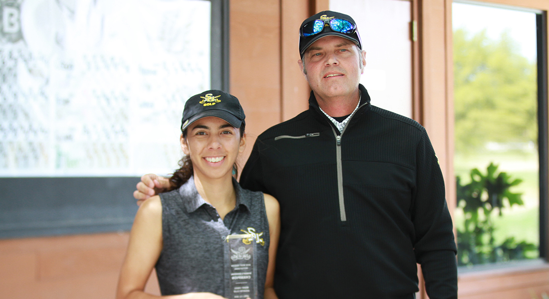 Olivieri Wins Individuals in West Region Invitational