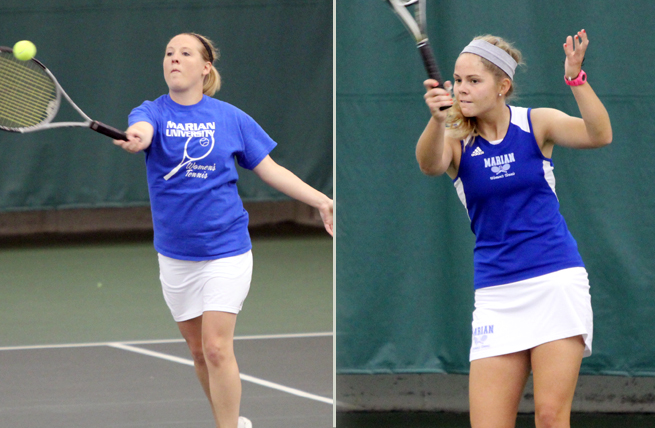 Connaher, Goyke Honored to All-NAC Tennis Team