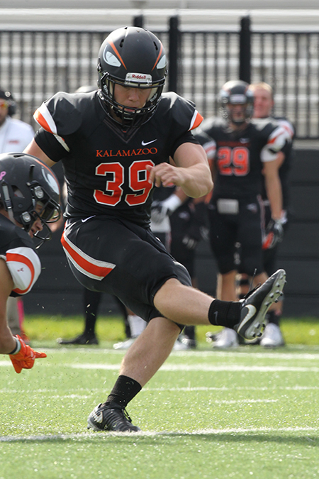 Greg Kearns, Kalamazoo, Football Special Teams Player of the Week 11/6/17