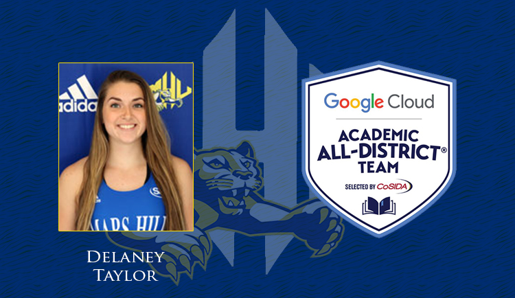 Taylor named to Google Cloud Academic-All District Team