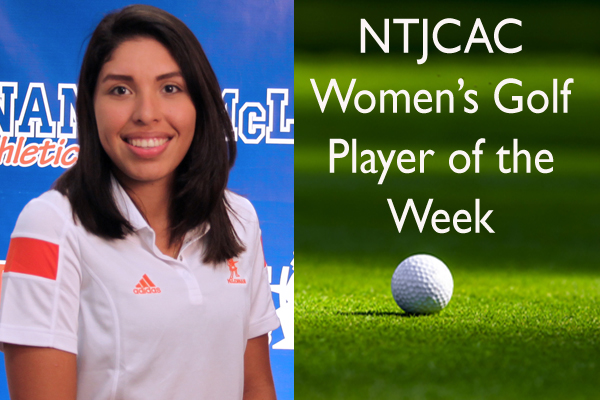 NTJCAC Women's Golf Player of the Week (Feb. 22-28)