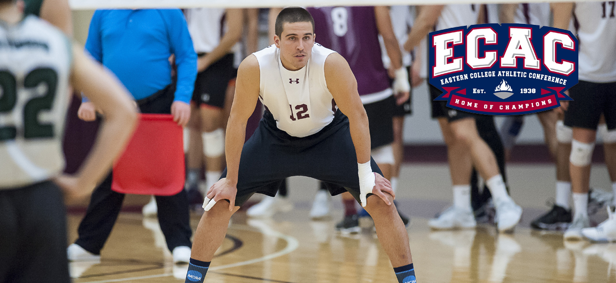 Figueroa Velez Repeats as ECAC Division III North Men's Volleyball Player of the Week