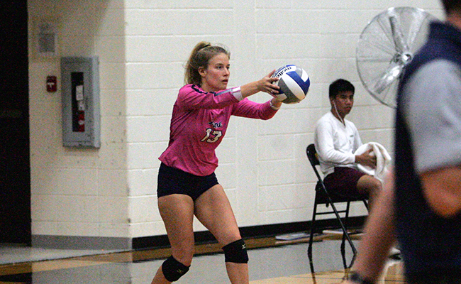 Hope Sails by Women's Volleyball