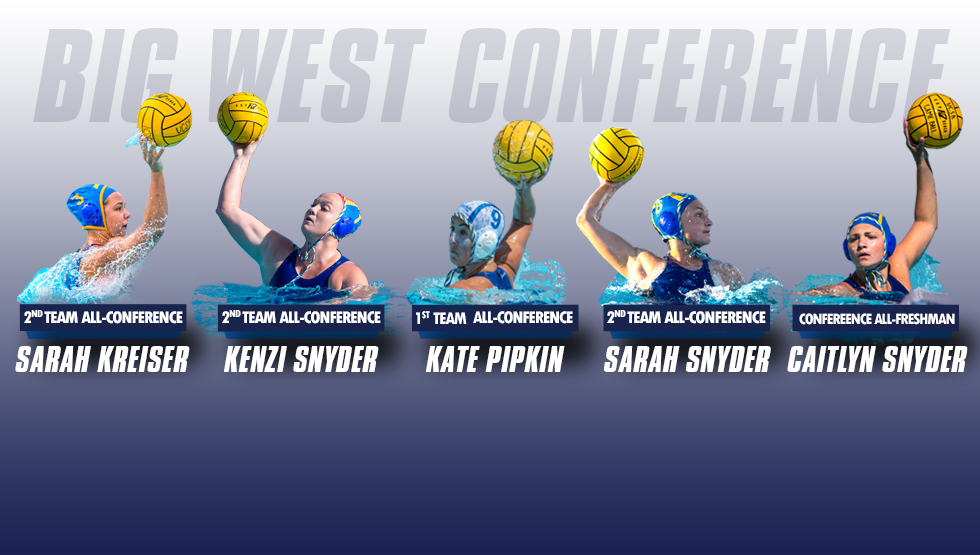 Gaucho Women's Water Polo Lands Five All-Big West Selections