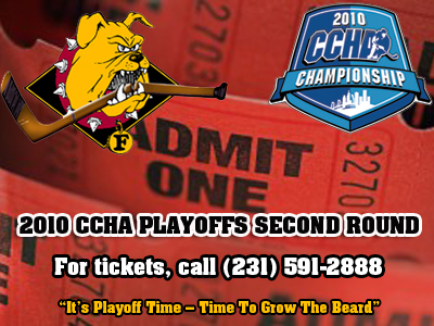 Tickets For Ferris State's CCHA Playoff Series Now On Sale