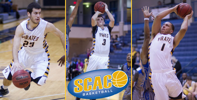 Three Pirates earn All-SCAC honors