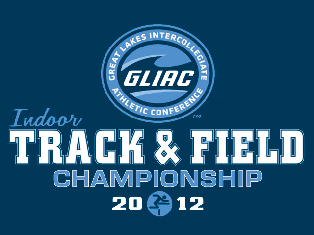 Dudley Wins High Jump, Snyder Takes Second in Hep at GLIAC Indoor Championships