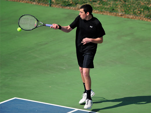 Men's tennis set for spring schedule