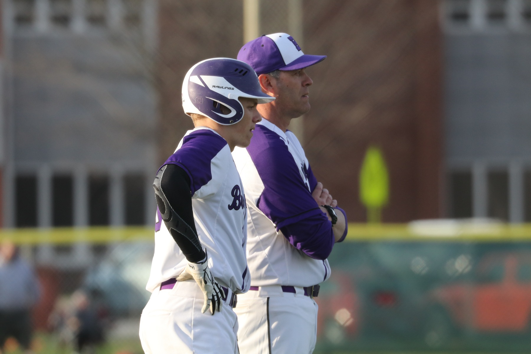 Baseball Defeats Zionsville in Game 1 of HCC Doubleheader