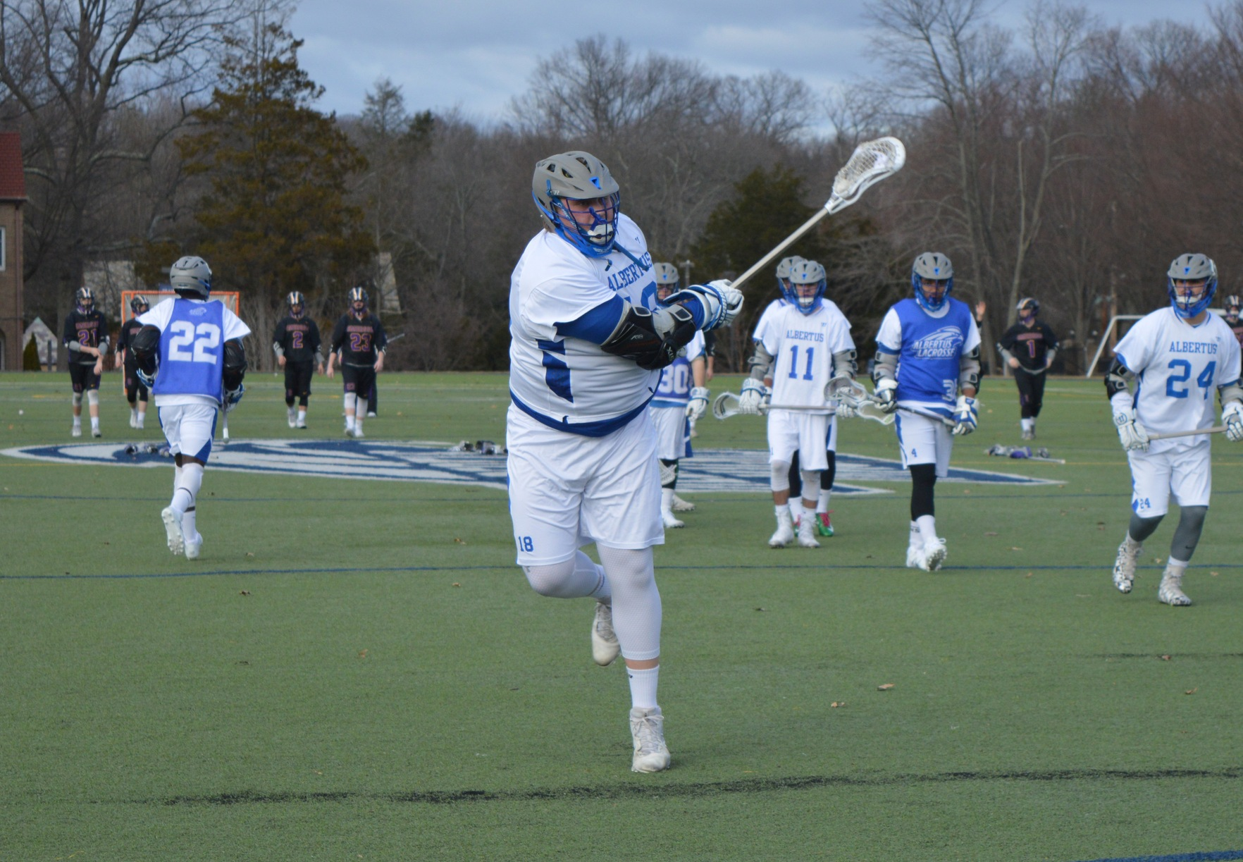 Men's Lacrosse Falls Short in Season Opener Against Emerson