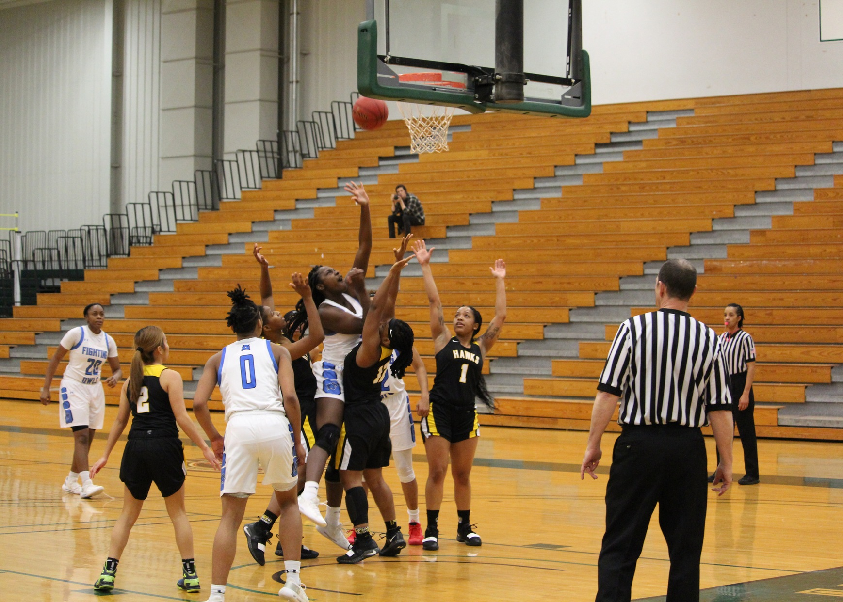 MDJUCO Women's Basketball Tournament: #1 Harford Rolls Past #8 Southern Maryland