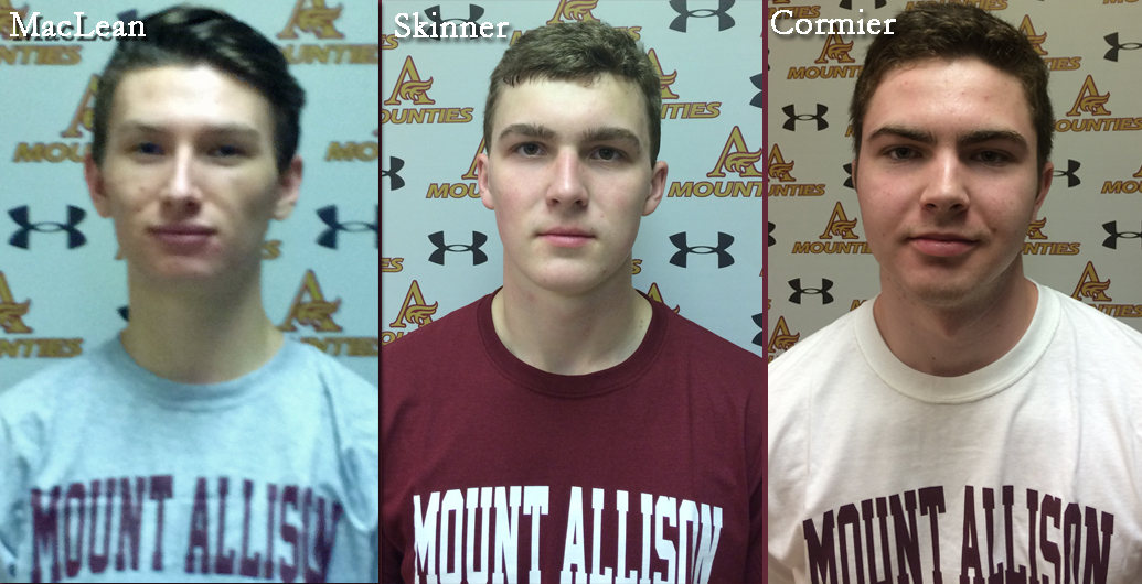 Mount Allison Mounties Men's Soccer program is pleased to announce new recruits