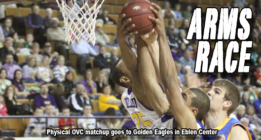 Golden Eagles subdue Morehead State in tough OVC battle in Eblen Center
