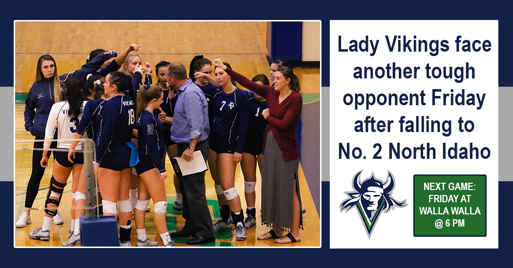 The Lady Vikings volleyball team will travel to Walla Wall on Friday to take on the No. 7 ranked Warriors. The match is scheduled to begin at 6 p.m.