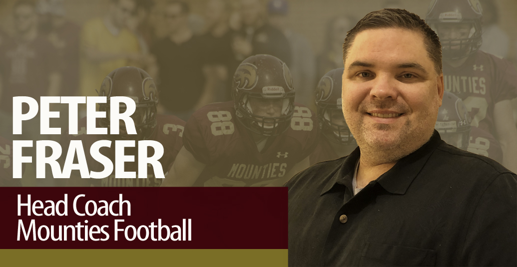 Mounties Announce Peter Fraser as new Football Head Coach
