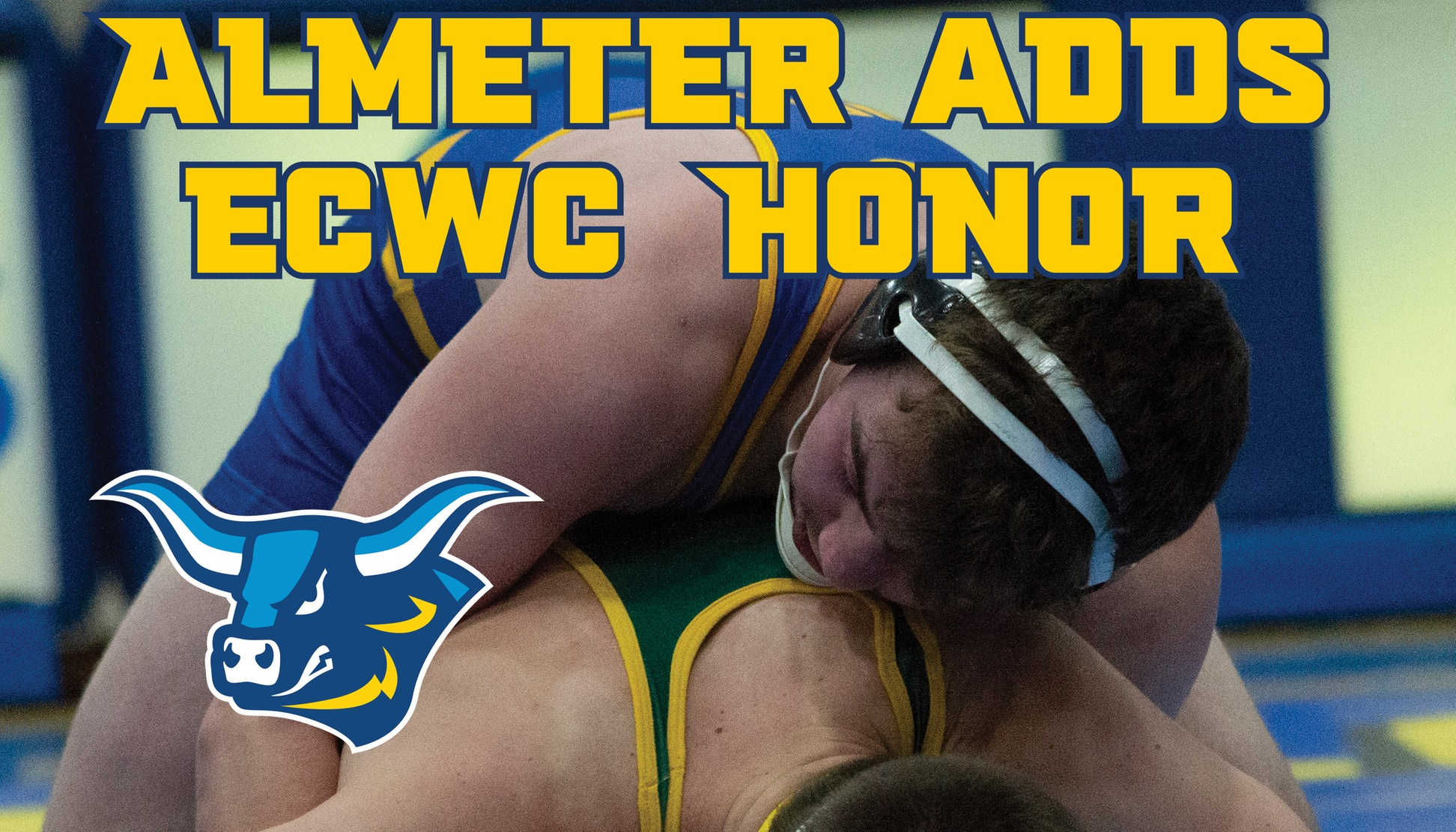 Tristan Almeter Named ECWC Wrestler of the Week