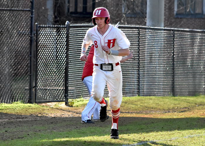 Chris Fisher scored the go-ahead run in Tuesday's 2-1 win over Millsaps.