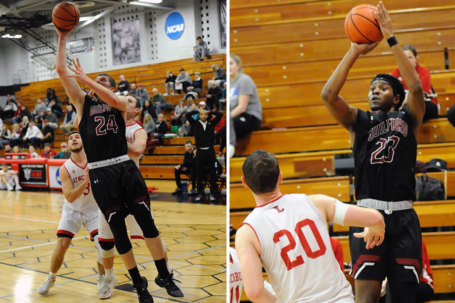 Kyler Gregory '20 (left), Marcus Curry '19 (right) (Andy Gore photos)