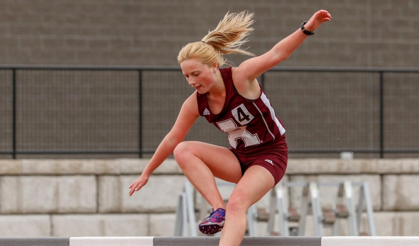 Track and Field Competes Against WHAC