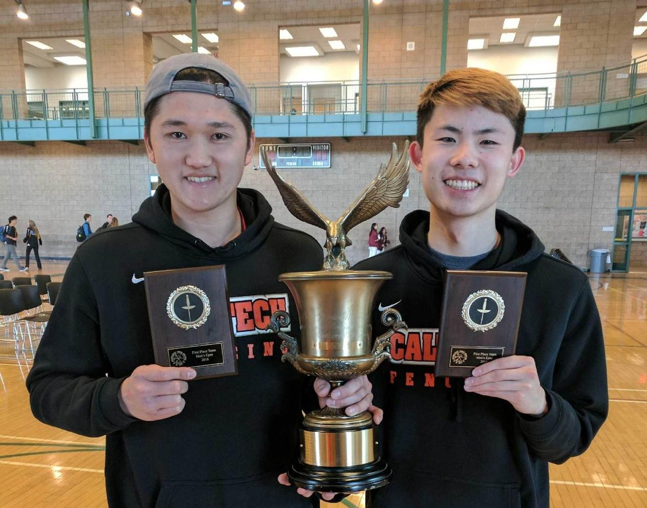 Men's Epee Caps Perfect Season with Conference Championship