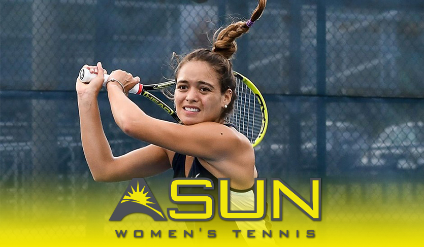 North Florida's Montano Garners First Career #ASUNWTEN Weekly Honor