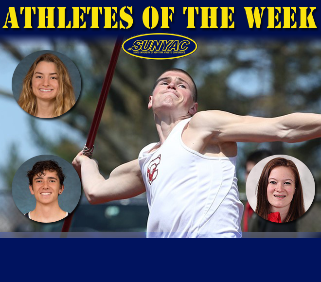 SUNYAC releases weekly track & field honors