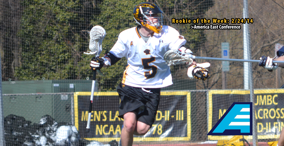 Max Maxwell Earns America East Top Rookie Honor