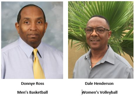 Head Coaches of Men's Basketball & Women's Volleyball announced