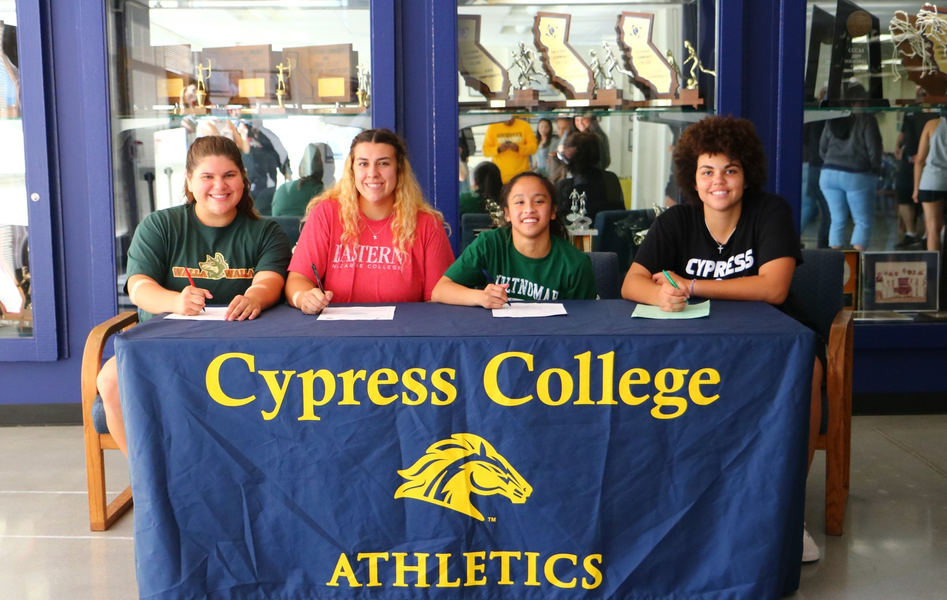 Women's Basketball: Four More Lady Chargers Sign to Four-Year Schools