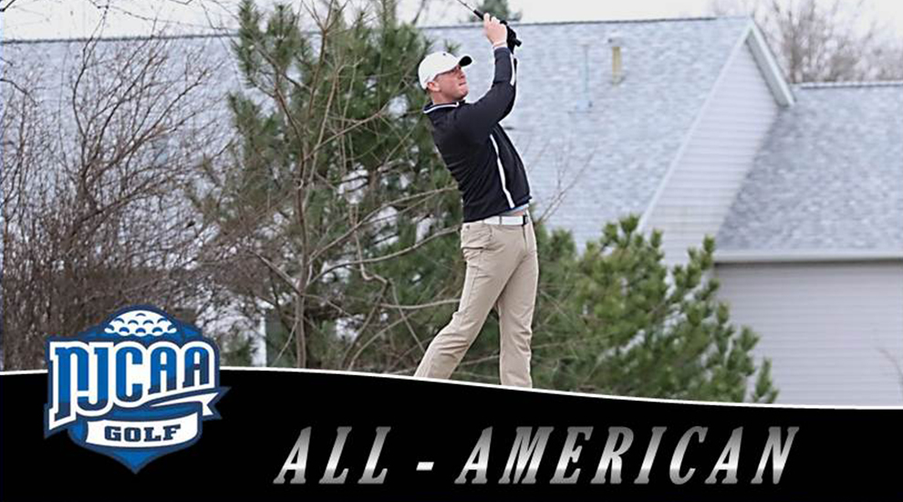 Photo for Powell honored as NJCAA All-American