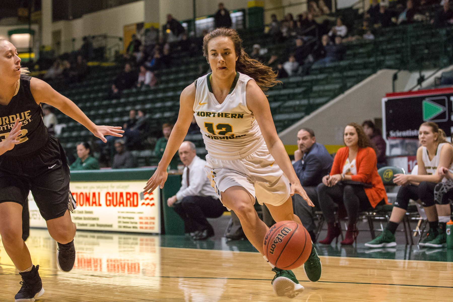 Huebner Nets Career High and Youngstrom Hits 1,000 but NMU Falls At Tech
