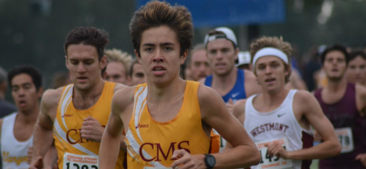 Men's Cross Country Takes Third Place at SCIAC Championships