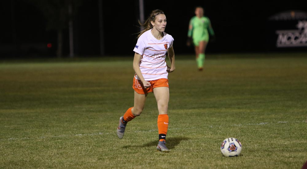 Women's soccer topped by Webster 1-0, ties for SLIAC regular season championship