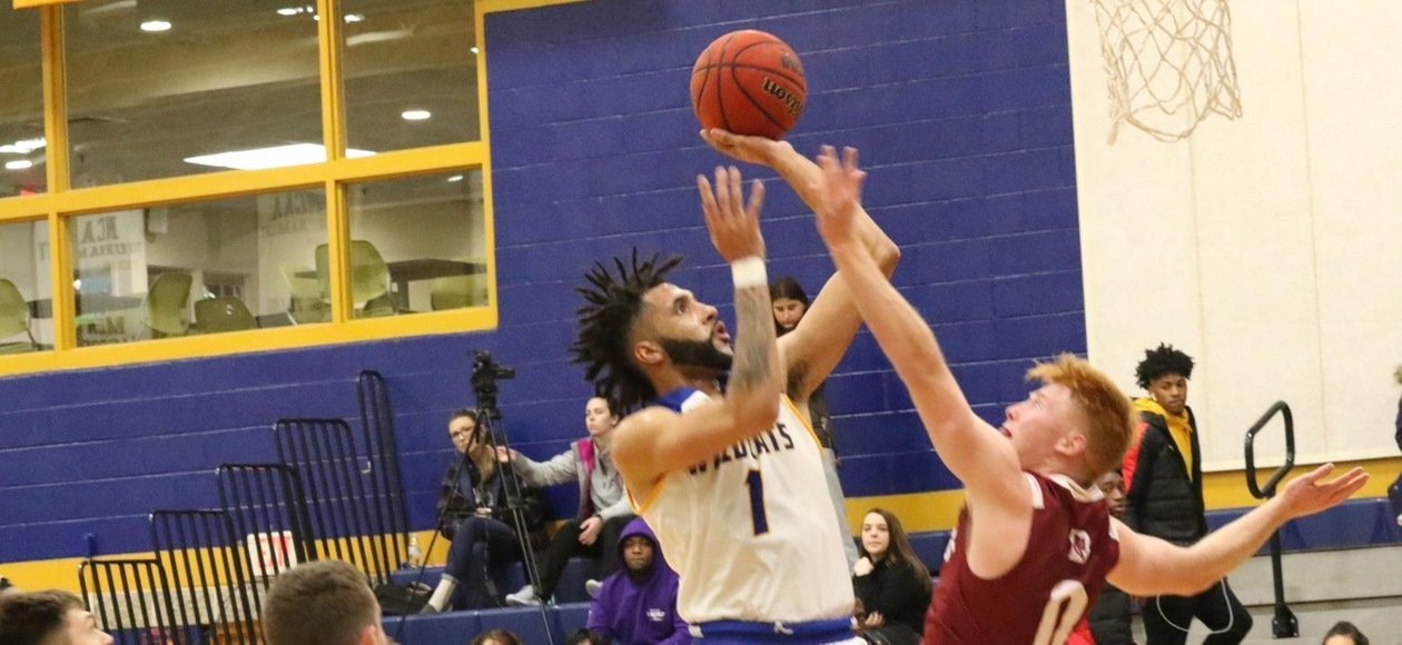 Yale Too Much for JWU Men's Basketball 108-58