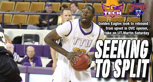 Tech attempts to even OVC record at UT Martin Saturday